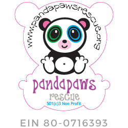 Panda Paws Rescue | Amanda Giese Logo