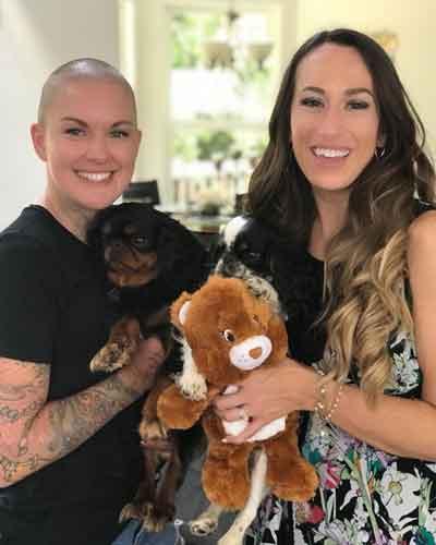 Amanda and Ashleigh with Mista Steal Yo Girl